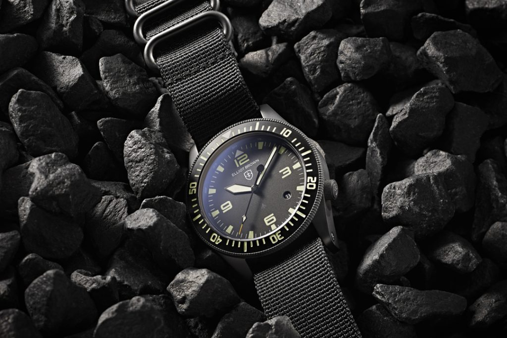 Product photography styled watch