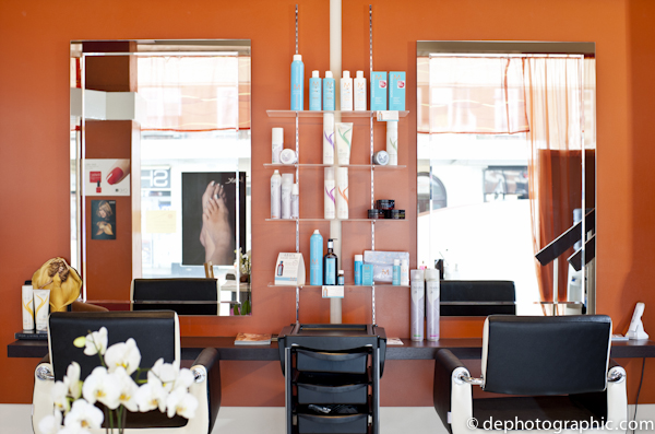 Riva Beauty Salon Interior Photography Case Study Double